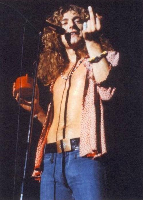 It doesn't get any better than Robert Plant in the 60s/70s