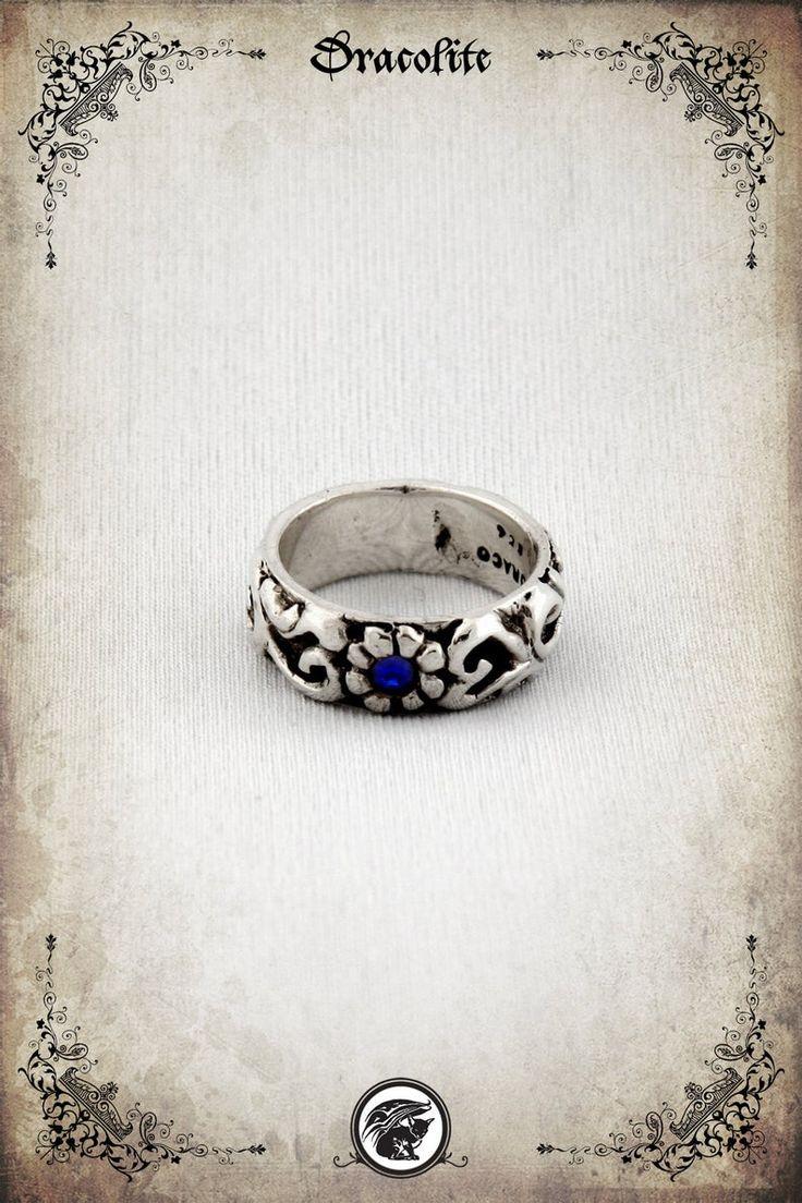 Silva Medieval wedding ring Sterling silver 925 | Etsy in ...
