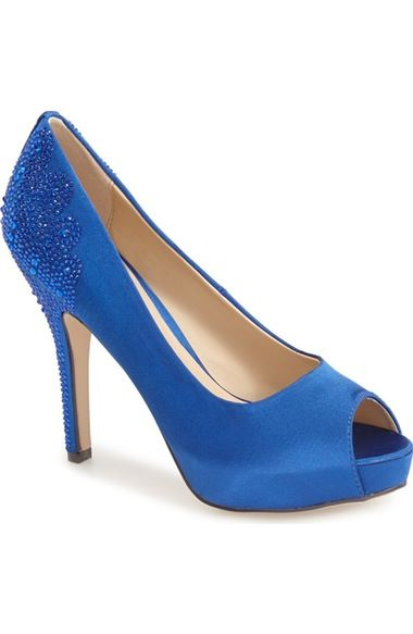 Menbur 'Sanco' Peep Toe Pump (Women) available at #Nordstrom