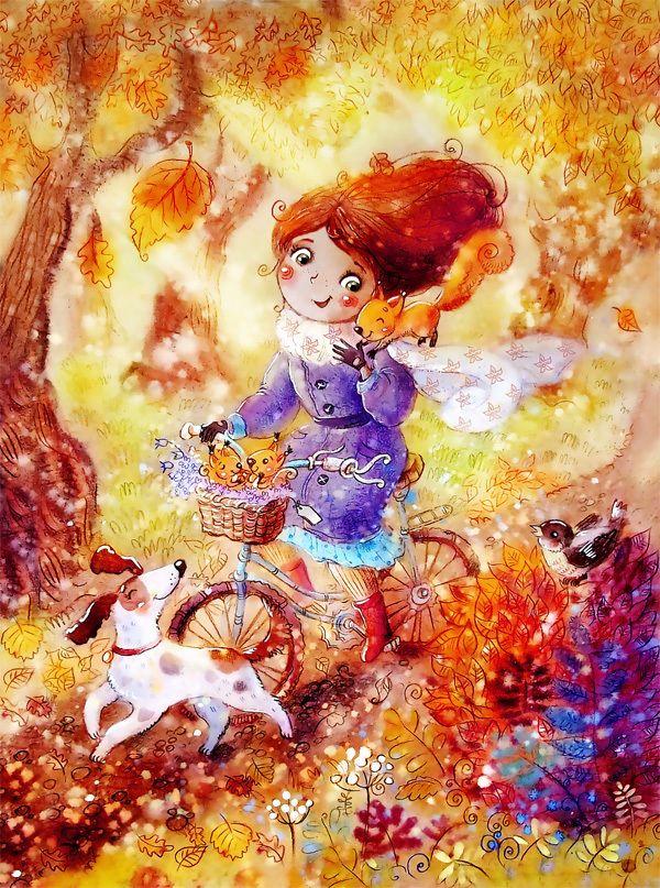 Посмотреть иллюстрацию Столбова Анастасия - особенный человек. Жизнь - это дождь. Иногда он моросит мелкими капельками, иногда переходит в ливень. В жизни каждого бывает человек с зонтом. Он приходит неожиданно и дарит солнце, укрывает от всего плохого. Важно его не потерять - человека с зонтом.
