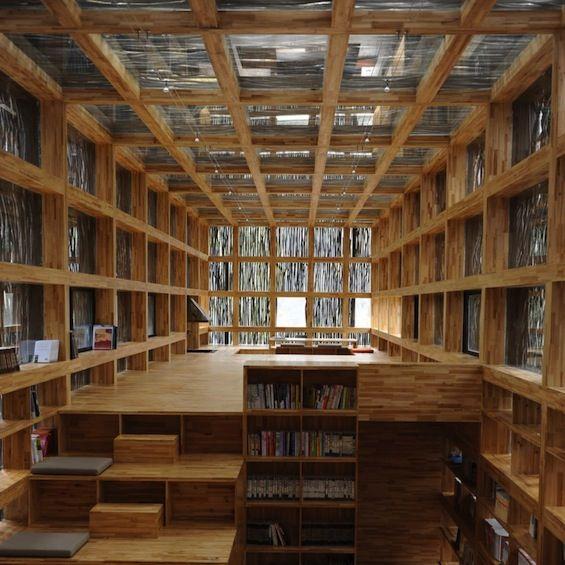 Bibliothèque par Li Xiaodong