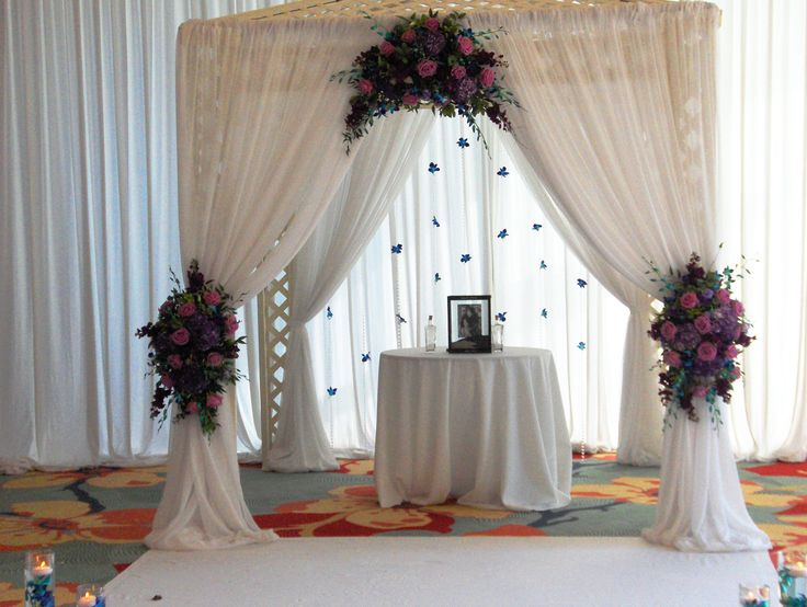 pretty wedding awning - Google Search