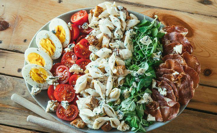 Saint Agur Blue Mac & Cheese Salad – Week 29: As a Salad | Natrel