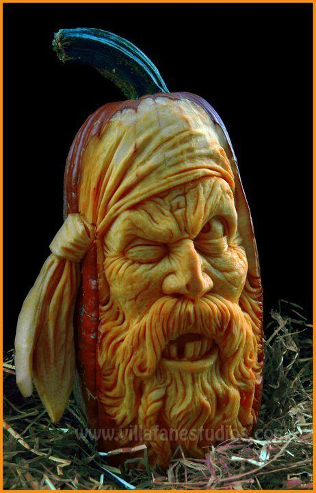 Best Amazing Pumpkins Created By The Artist And Sculptor Ray - Mind blowing pumpkin carvings by ray villafane 2