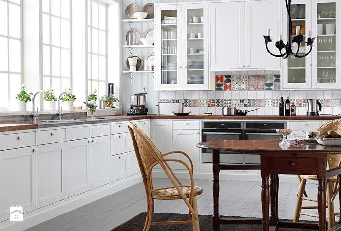 Kuchnia biała - Kuchnia - Styl Skandynawski - Casa Bianca