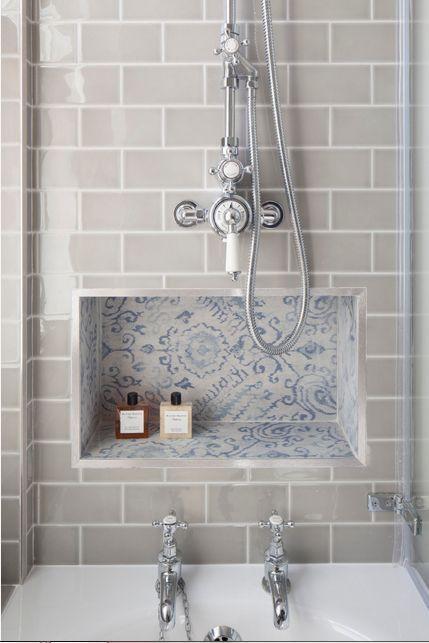 Devon Metro Flat Arctic Grey Gloss Subway Kitchen Bathroom Wall Tiles 10 X 20cm in Home, Furniture & DIY, DIY Materials, Flooring & Tiles   eBay