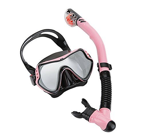 Cpsports Scuba Diving Snorkeling Freediving Mask Snorkel Set for Adult (pink ) - http://scuba.megainfohouse.com/cpsports-scuba-diving-snorkeling-freediving-mask-snorkel-set-for-adult-pink/