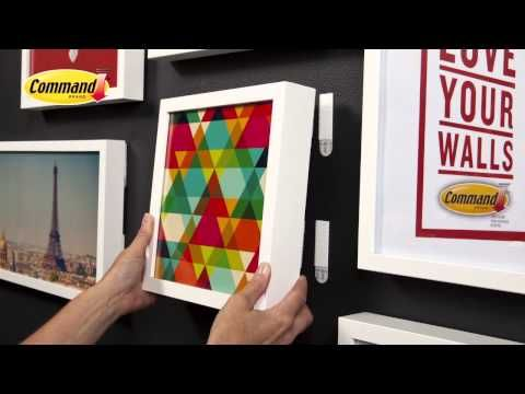Video - How to create a gallery wall. #loveyourwalls #taradennis
