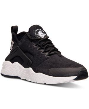 Nike Women's Air Huarache Run Ultra Running Sneakers from Finish Line - Black 8.5