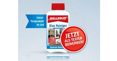 50 Tester für MELLERUD Glas Reiniger Konzentrat