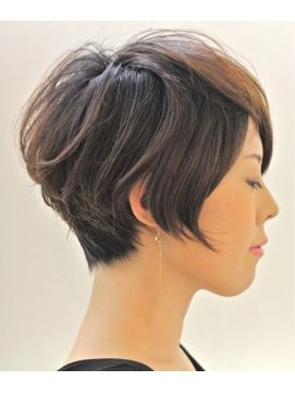 Cute short hair cut pixie haircut