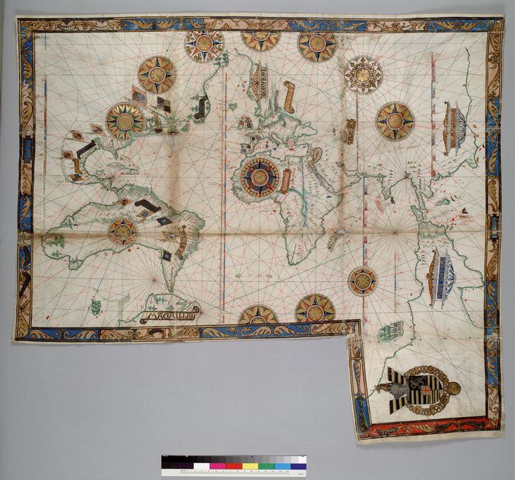 North America Map In 1750%0A World map by Guillaume Brouscon        The map includes America and a large  promontory of the   Terre Ostrale    Terra Australis  inscribed in its  northern