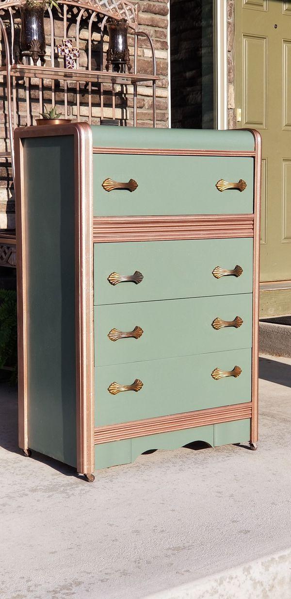 Antique Dresser For Sale In Denver Co Offerup Art Deco Dresser Antique Dresser Diy Dresser