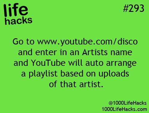 Life Hack to get music the way you want on Youtube