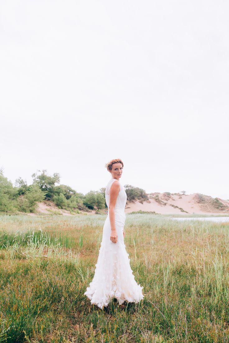 Elizabeth Stuart Tula Gown featured in Naturae Design Summer 2015 Lookbook. Image by Svenja Petersen Photography #elizabethstuart