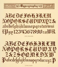 1000+ images about Calligraphy fonts and old English alphabets on ...