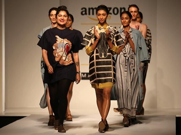 Must say! Bold & edgy ‪#‎RaginiAhuja‬'s show at ‪#‎AIFWSS16‬