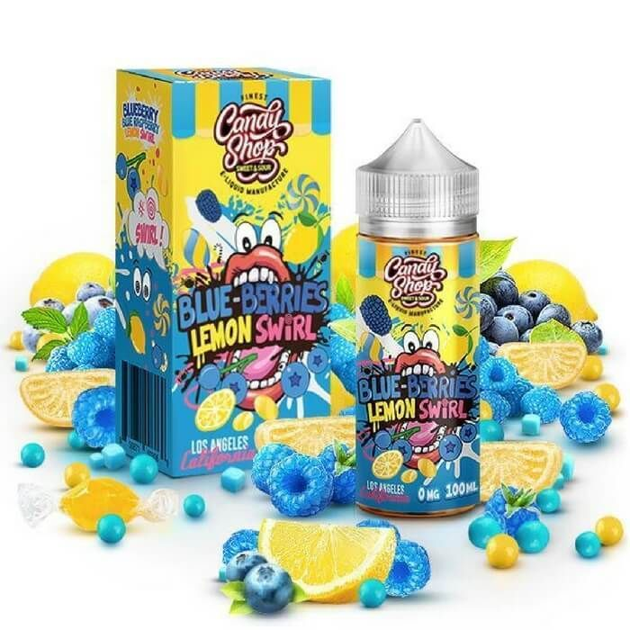Blue-Berries Lemon by The Finest E-Liquid in 2019 | eJuice