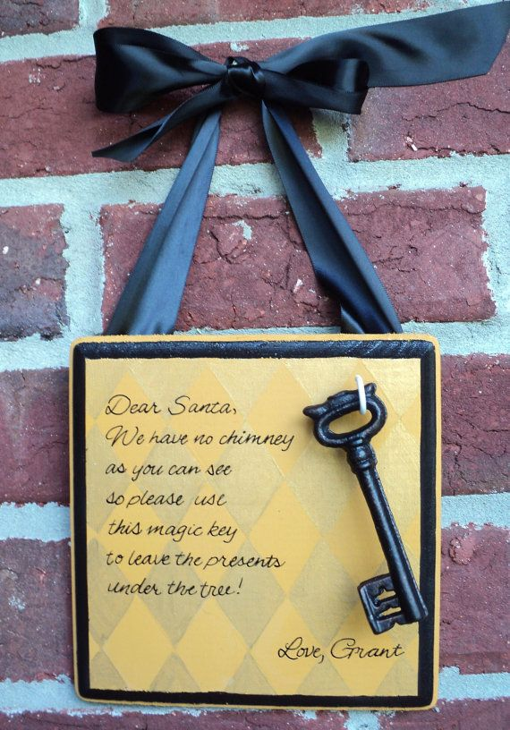Magische sleutel voor Sinterklaas, want wij hebben geen schoorsteen