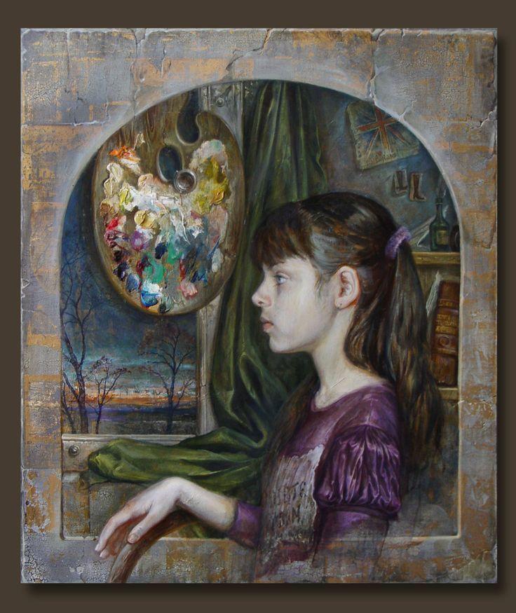 #DmitryKostylew #Дмитрий_Костылев #портрет #portrait #живопись #Art