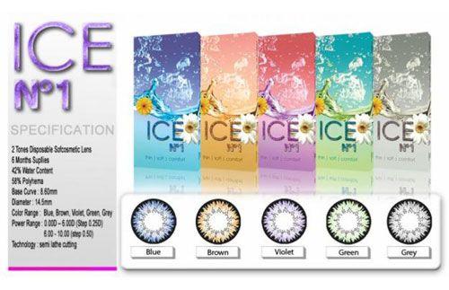 Percantik mata Anda dengan Soft Lens Ice yang hadir dengan berbagai warna pilihan yang indah HANYA Rp.68.000 #panoramagroup