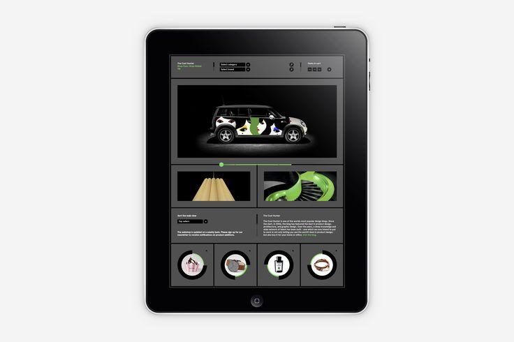 Lundgren+Lindqvist: The Cool Hunter Webshop design
