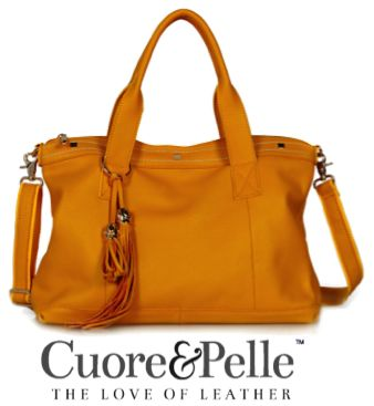 Cuore and Pelle Amelia Bag on Bay Area Mommy ($325)