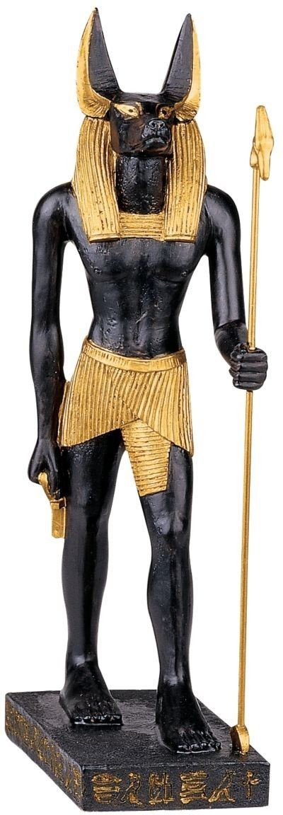Anubis God of the Egyptian Realm Figurine