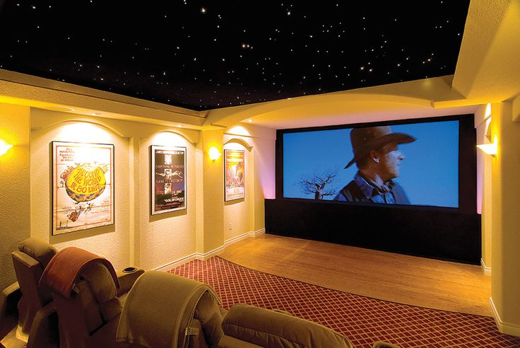 Basement Home Theater Ideas Diy Small Spaces Budget