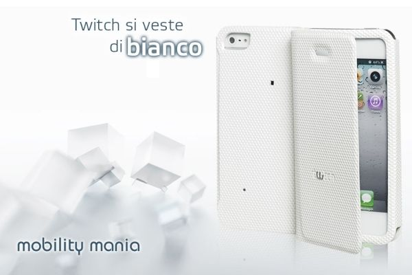 New WHITE version NOW available Let's Twitch again! Twitch is for those who require a refined style perfectly in step with technological development!