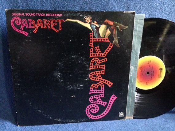 RARE Vintage Cabaret  Original Soundtrack by sweetleafvinyl