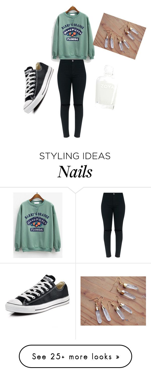 """Untitled #1308"" by diamondsdokill on Polyvore featuring Converse"