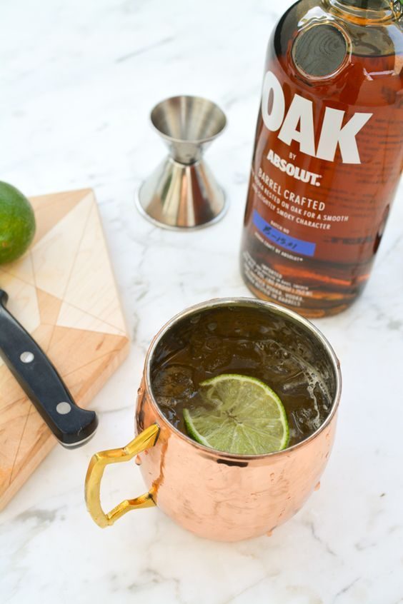 There's nothing like a copper mug to drink your favorite summer cocktail recipe out of! A vodka mule is refreshing and perfect for those warm happy hours!