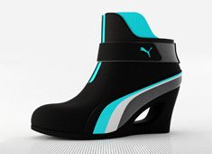 "The Puma ""Speed Kitty ""....they say jogging in heels is a more intense leg workout than jogging in sneakers. plus, these are super cute!"