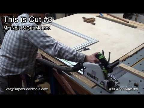 1081. Cutting Plywood Accurately Using Festool Tools • Video 2 of 3 - YouTube