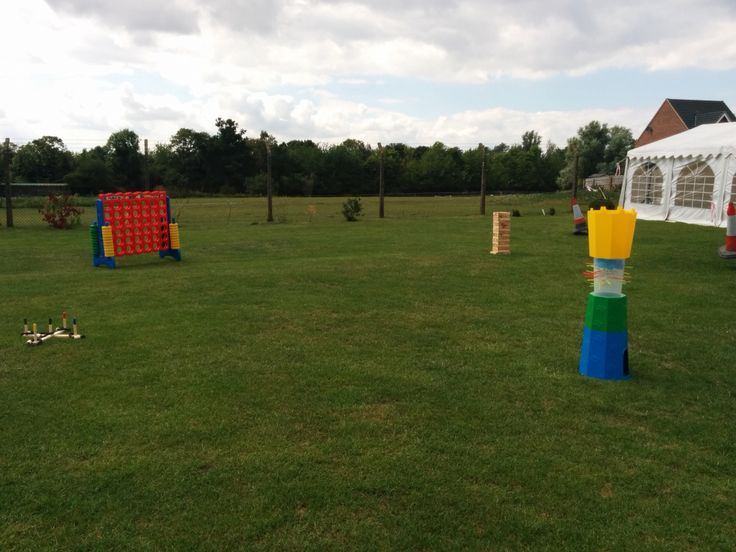 Giant games hire for a corporate event with La Farge Tarmac in #suffolk Check out http://www.gardengamespartyhire.co.uk/pages/corporate for more details on how we can help you