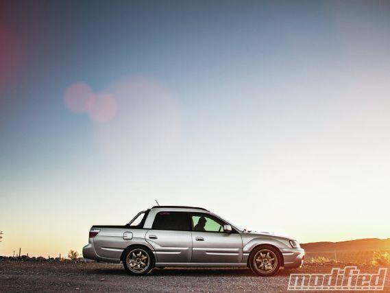 2004 Subaru Baja XT   Doing Work