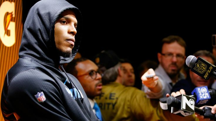 SANTA CLARA, Calif. — Carolina Panthers quarterback Cam Newton walked out of his postgame press conference following the Panthers loss in Super Bowl 50. But it seems there is more to the story. The...