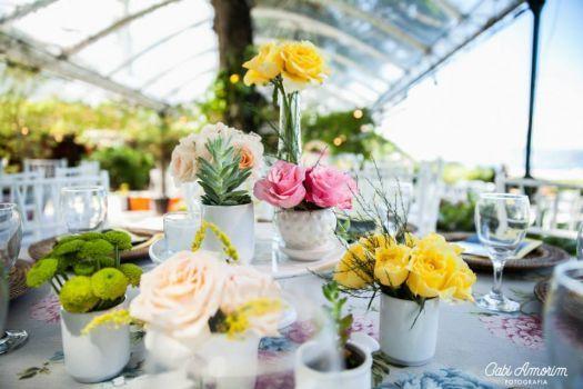 Inspire-se na decoração alegre de um real wedding cheio de cores [Foto]