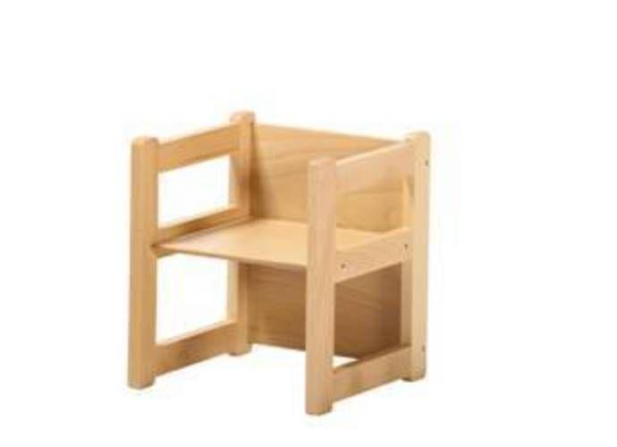 Sedia pluriuso massello - mobili per scuole e asili, sedie per ...