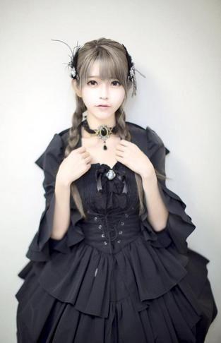 Air bangs Yurisa Lolita Long Curly Harajuku Capless Shaggy High Temperature…