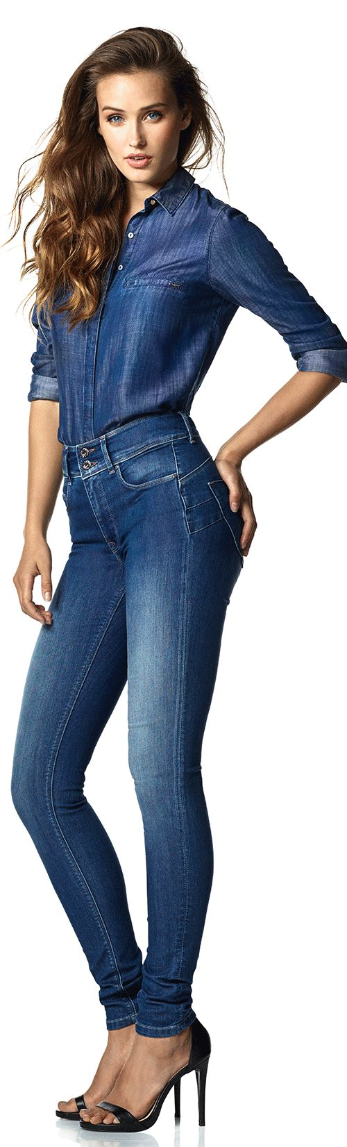 Secret Push In Jeans | Shop women's jeans at Salsa online store