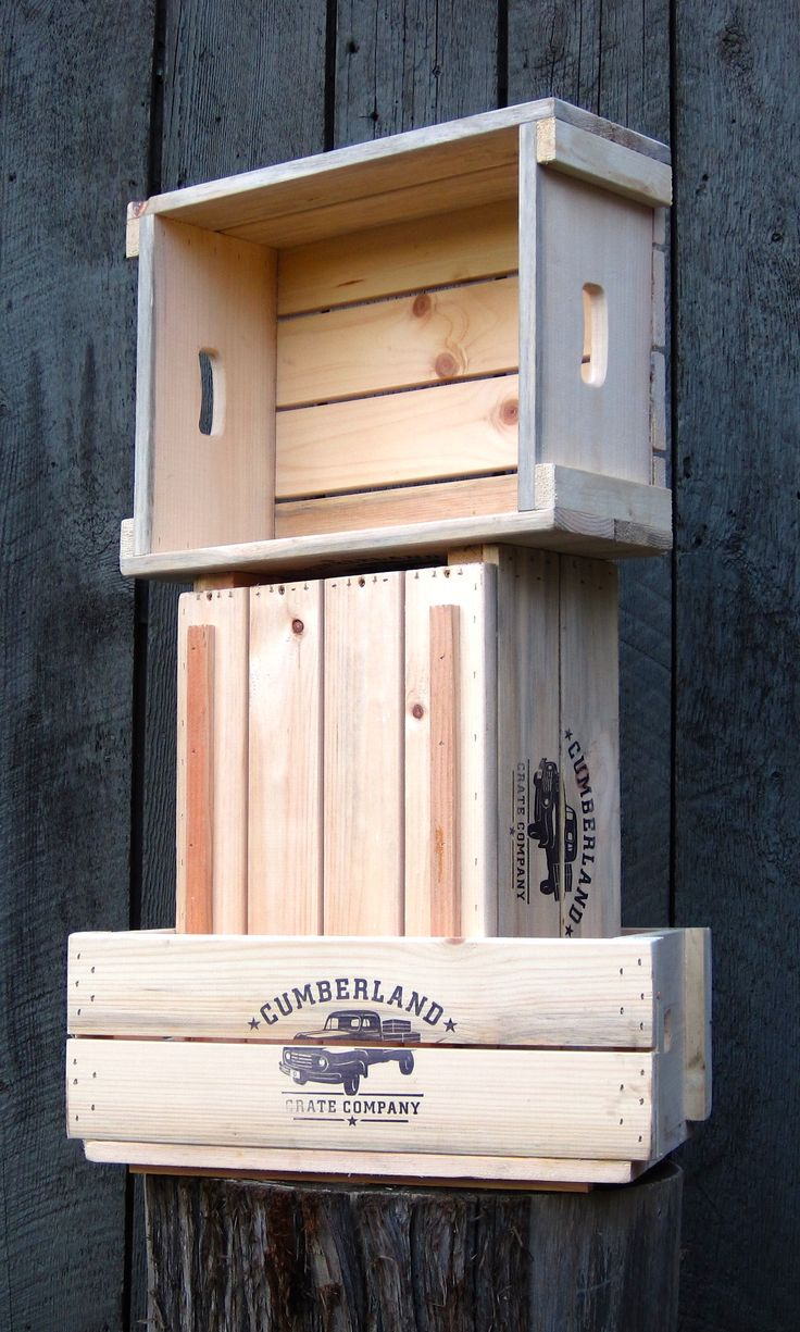 Our Farmer Rod standard farm crate. A must have for all crate lovers! www.cumberlandcratecompany.com