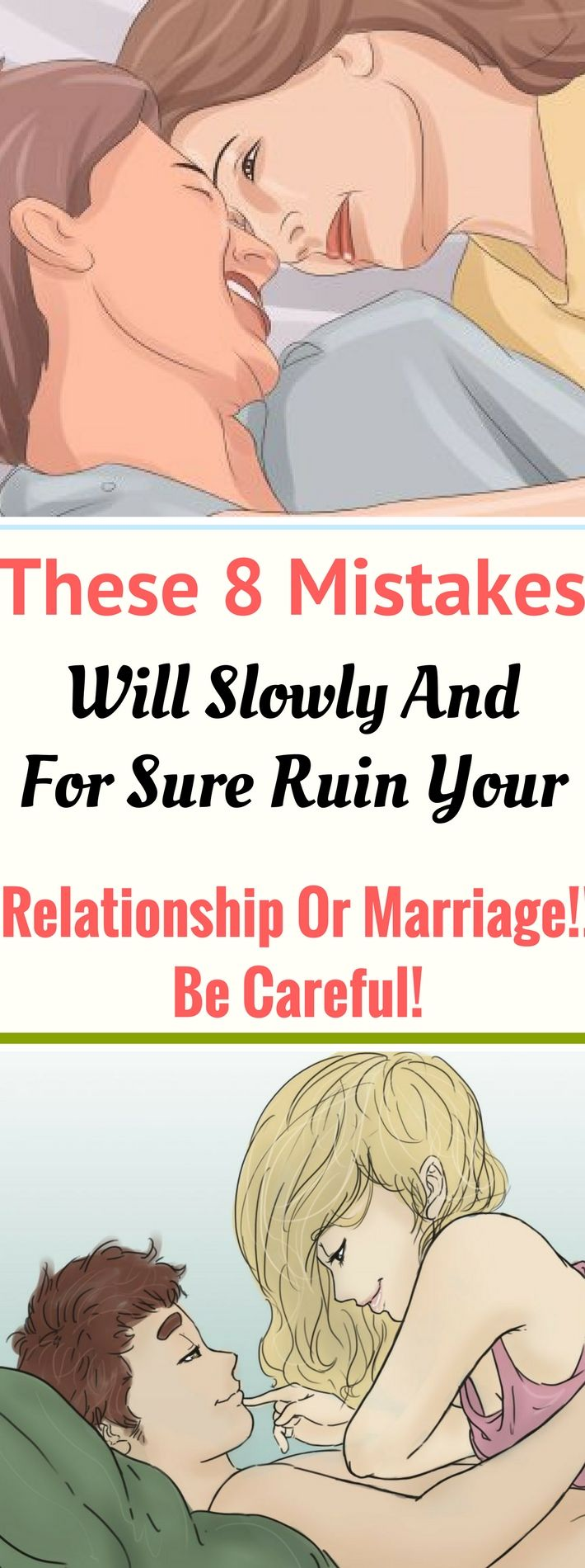 These 8 Mistakes Will Slowly And For Sure Ruin Your Relationship Or Marriage!! Be Careful! Need to know..! Need to know! !!!