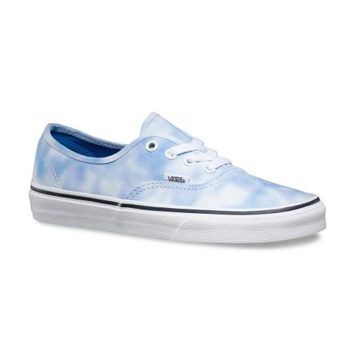 Luxurious Vans Authentic Tie Dye Palace Blue for Women
