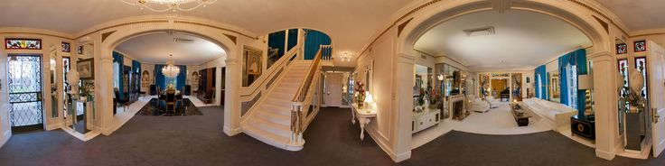 This is the entryway in the foyer of the Graceland Mansion.Step inside Graceland Mansion and follow in the same steps as Elvis himself as you enjoy an audio-guided tour featuring commentary and stories by Elvis and his daughter Lisa Marie. See where Elvis lived, relaxed and spent time with his friends and family.http://www.elvis.com/graceland/tours/default.aspx