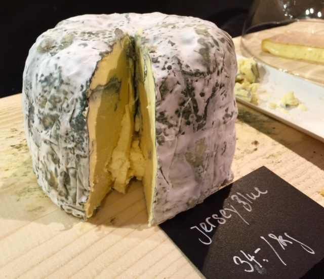 Willi Schmid's Jersey Blue cheese http://newinzurich.com/2015/11/slow-food-market-in-photos/