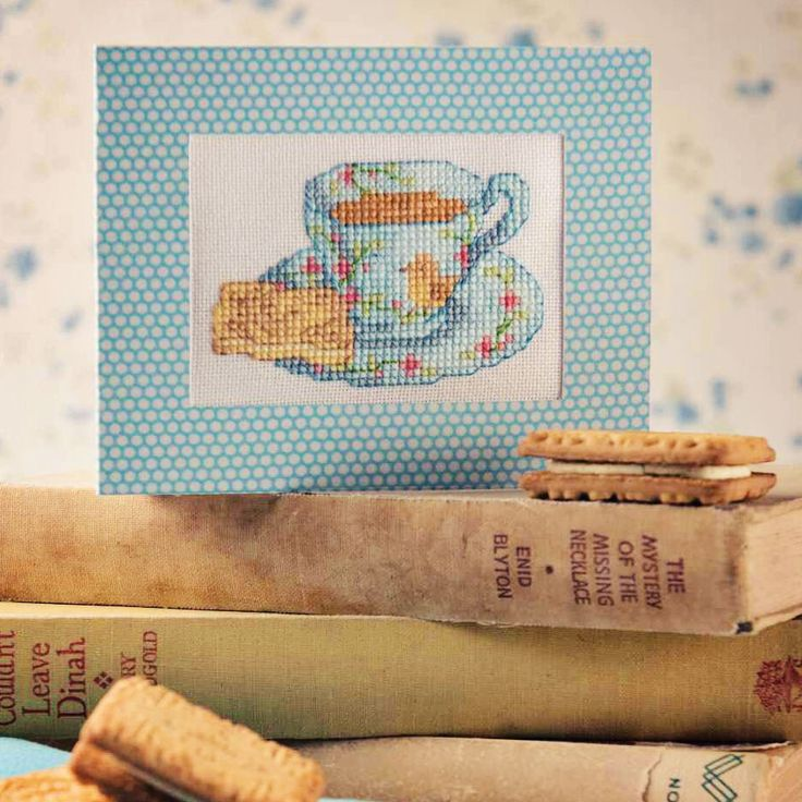 Biscuit Break - Project Available in Cross Stitch Collection 254 (October 2015)