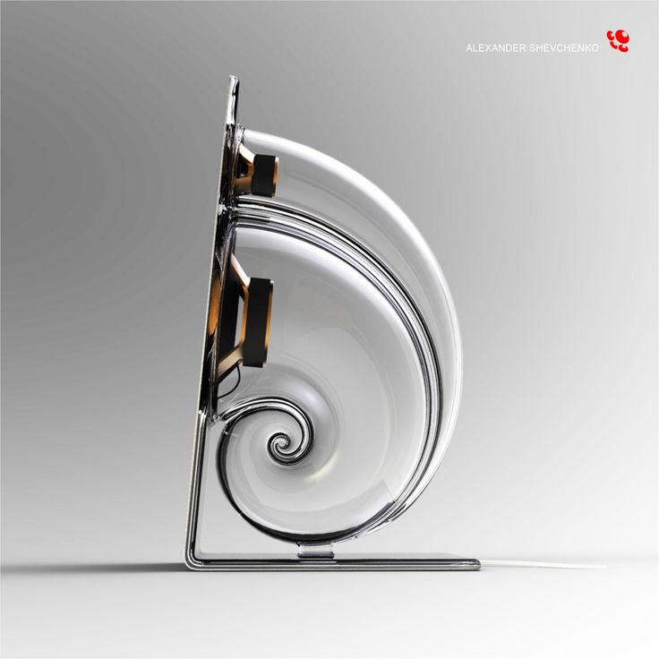 Desktop speaker system Snail