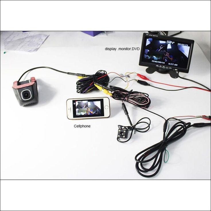 BigBigRoad For Chevrolet Malibu Car Wifi DVR Video